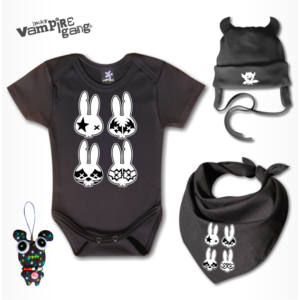 Rocker vagány babacsomag - Választható mintával