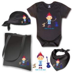 Bon Jovi babaköszöntő csomag - Választható mintával