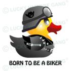 Vászon táska - Biker Duck