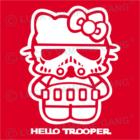 Nyálfogó kendő - Hello Trooper