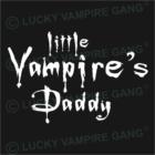 Rövid ujjú férfi póló - Vampire's Daddy