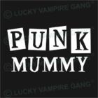 Kapucnis, bebújós unisex pulóver - Punk Mummy