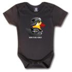 Rövid ujjú body - Biker Duck