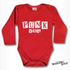 Hosszú ujjú body - Punk Xmas