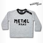 Hosszú ujjú gyerek póló - Metal Xmas