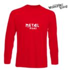 Hosszú ujjú férfi póló - Metal Xmas