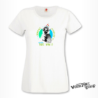 Rövid ujjú női póló - Mindenki nyugodjon le…Névnap