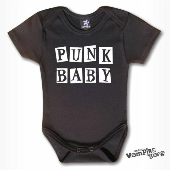Rövid ujjú body - Punk baby