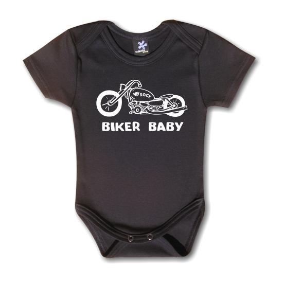 Rövid ujjú body - Biker Baby
