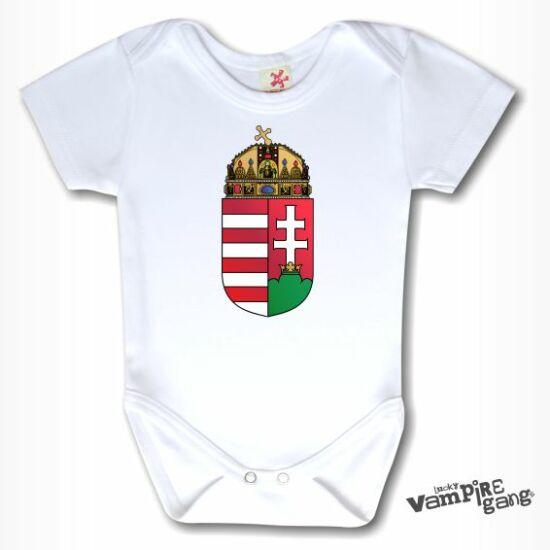 Rövid ujjú body - Magyar címer