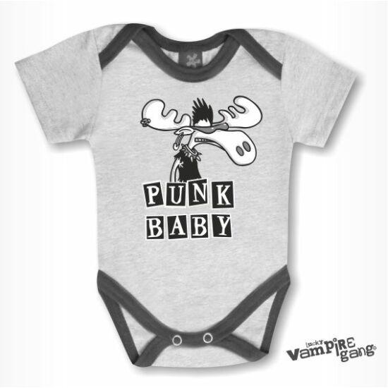 Rövid ujjú body - Punk szarvas