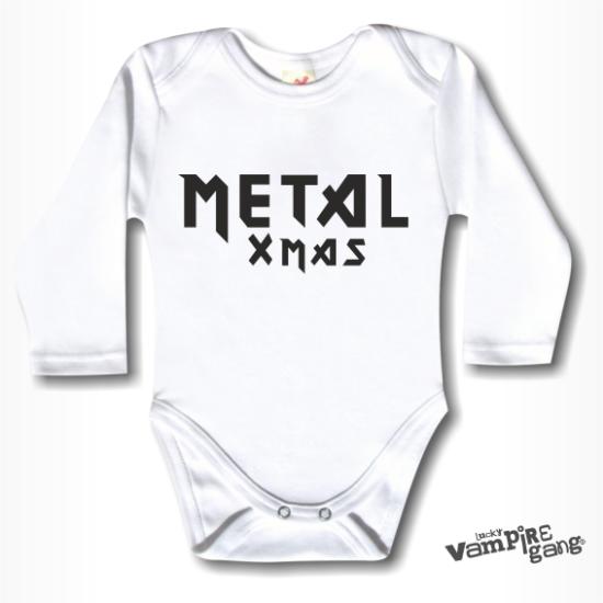 Hosszú ujjú body - Metal Xmas