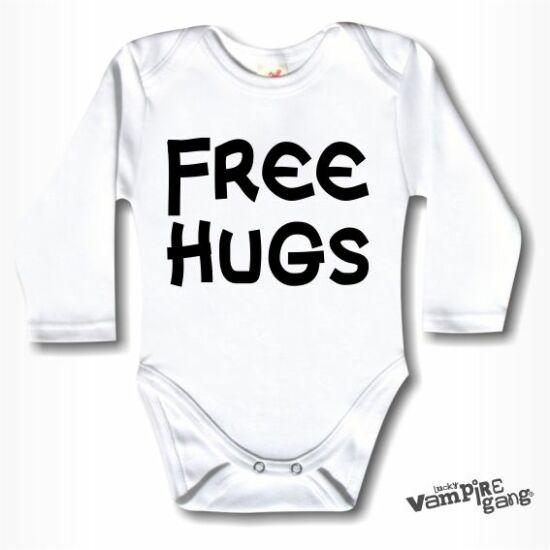 Hosszú ujjú body - Free Hugs