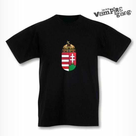 Rövid ujjú gyerek póló - Magyar címer