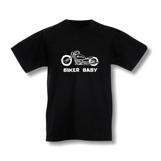 Rövid ujjú gyerek póló - Biker Baby