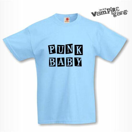 Rövid ujjú gyerek póló - Punk baby