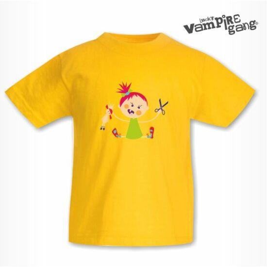 Rövid ujjú gyerek póló - Hisztis