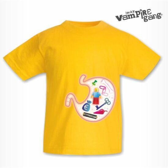 Rövid ujjú gyerek póló - Jóllakott pocak