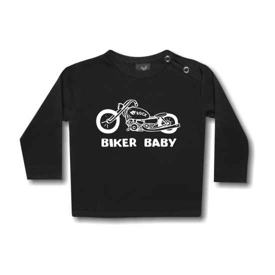 Hosszú ujjú gyerek póló - Biker Baby