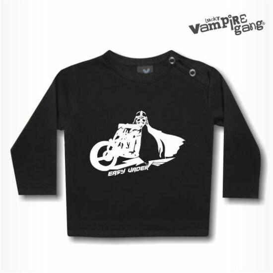 Hosszú ujjú gyerek póló - Easy Vader
