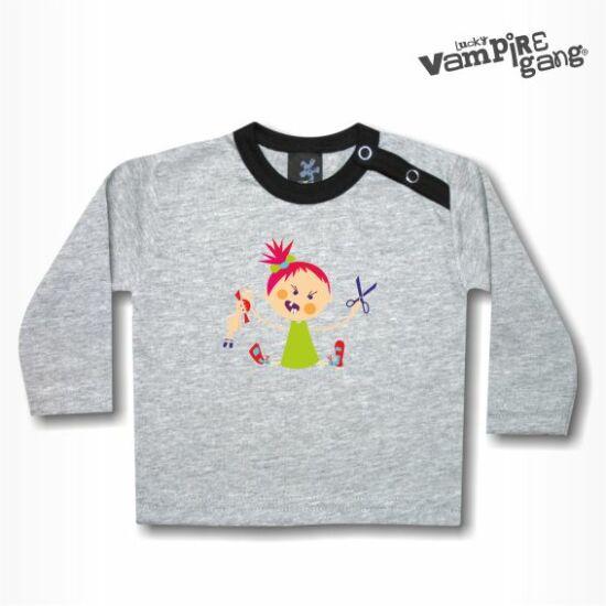 Hosszú ujjú gyerek póló - Hisztis
