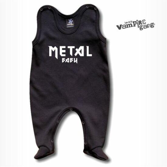 Ujjatlan rugdalózó - Metal baby