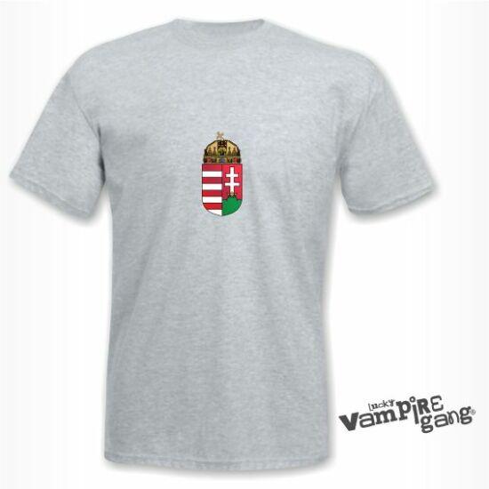 Rövid ujjú férfi póló - Magyar címer