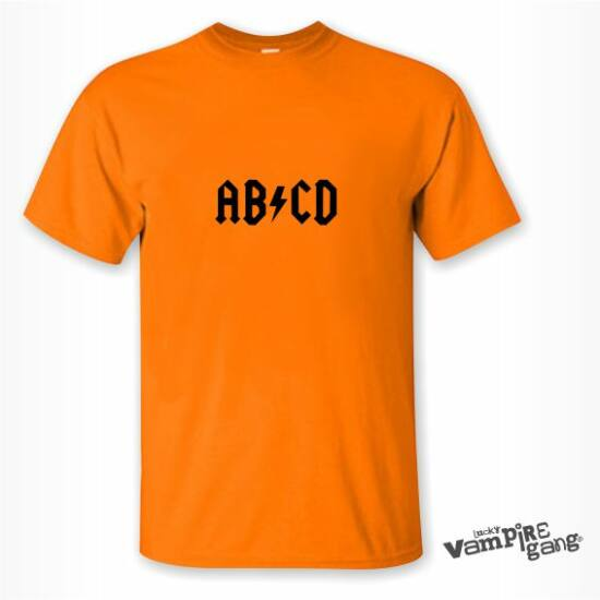 Rövid ujjú férfi póló - AB/CD