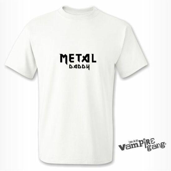 Rövid ujjú férfi póló - Metal Daddy