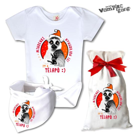 Télapós baba ajándékcsomag - Választható mintával!