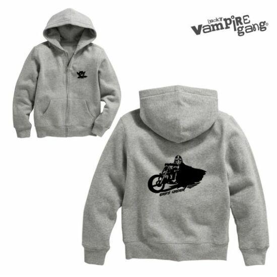 Kapucnis cipzáros baba pulóver - Easy Vader