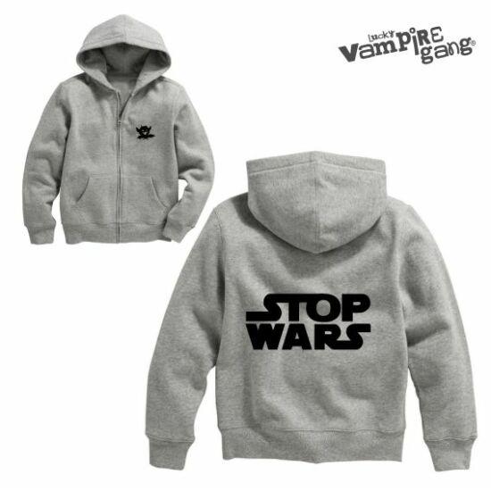 Kapucnis cipzáros baba pulóver - Stop!