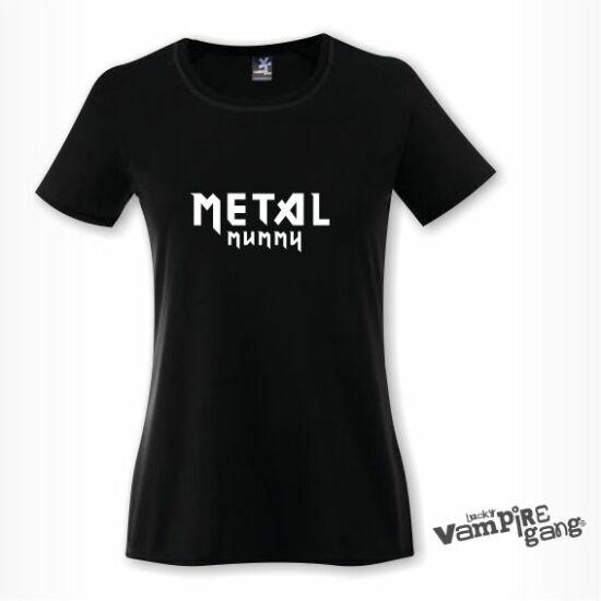 Rövid ujjú női póló - Metal Mummy
