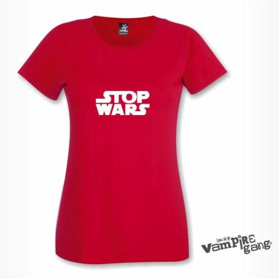 Rövid ujjú női póló - Stop!