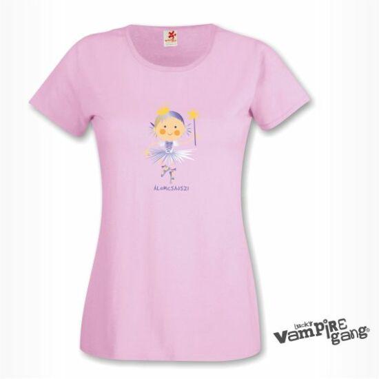 Rövid ujjú női póló - Álomcsajszi