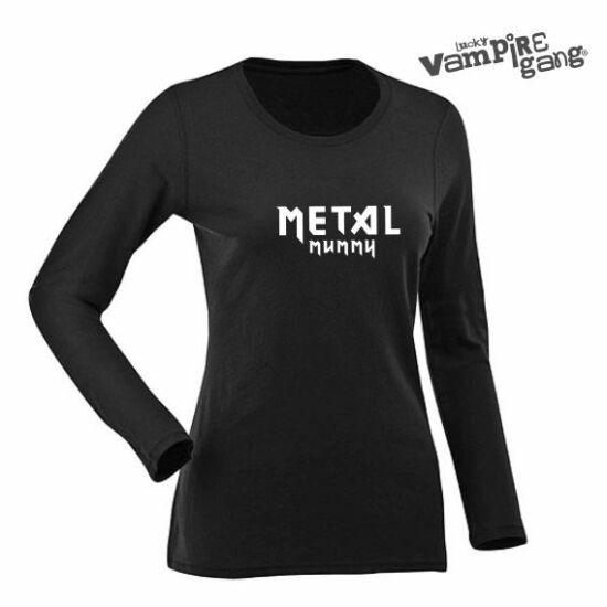 Hosszú ujjú női póló - Metal Mummy