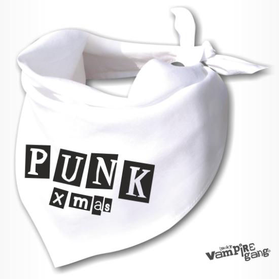 Kendő, nyálfogó - Punk Xmas