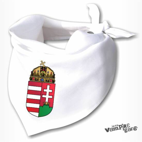 Nyálfogó kendő - Magyar címer