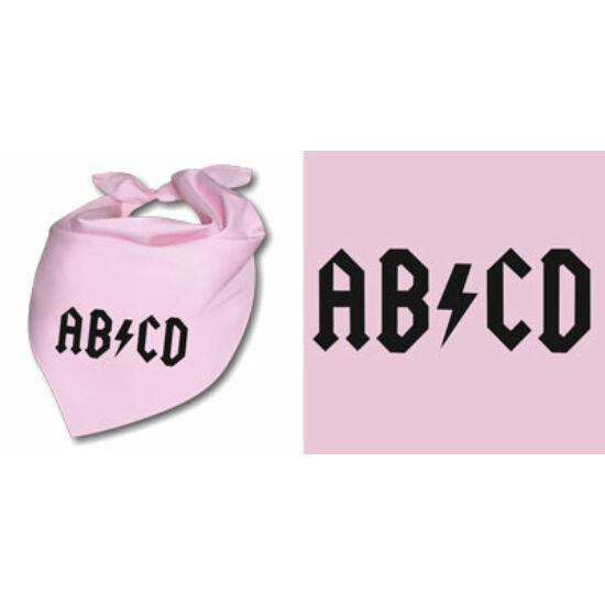 Nyálfogó kendő - AB/CD