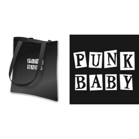 Vászon táska - Punk baby