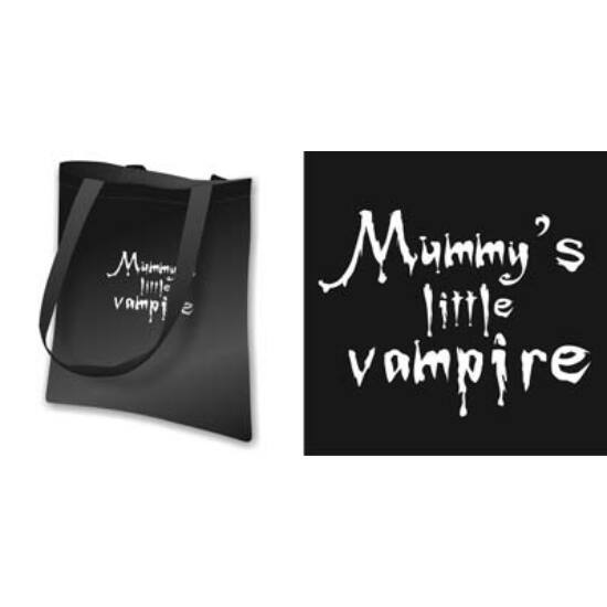 Vászon táska - Vampire baby