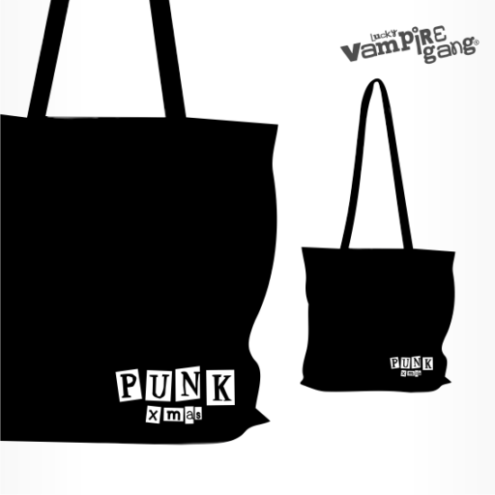 Karácsonyi táska - Punk Xmas