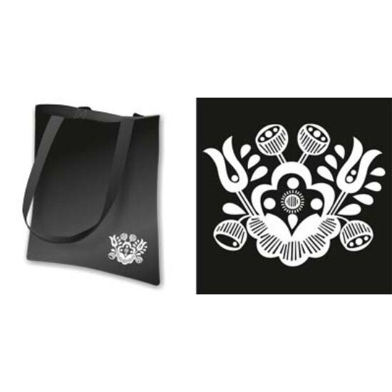 Vászon táska - Sárközi minta