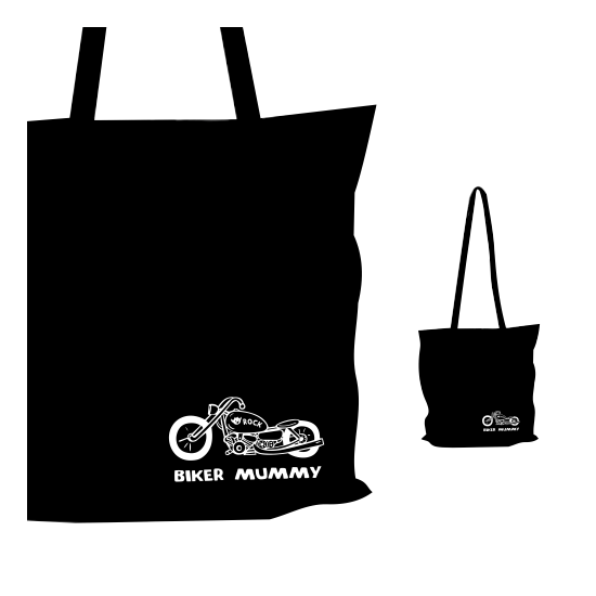 Vászon táska - Biker Mummy