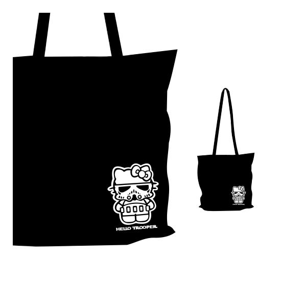 Vászon táska - Hello Trooper