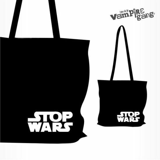 Vászon táska - Stop!