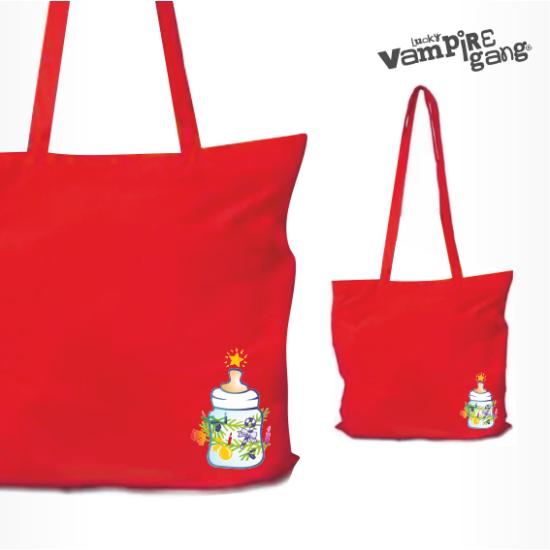 Karácsonyi táska - Cumisüveg