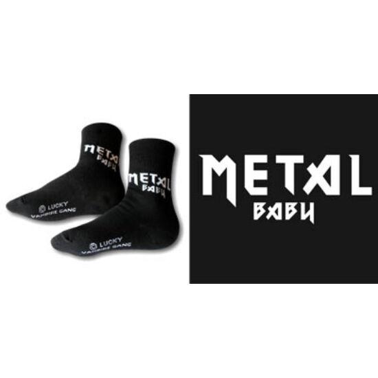 Puha zokni - Metal baby