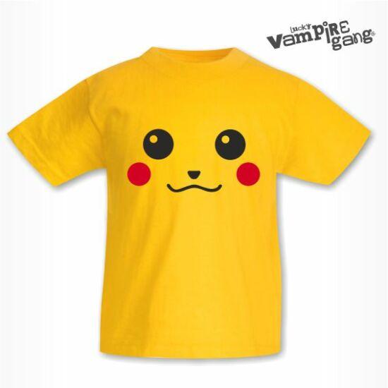 Rövid ujjú sárga póló - Go!