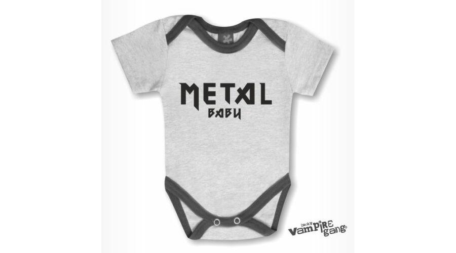 Rövid ujjú body - Metal baby - Metal baby e30c8721fd
